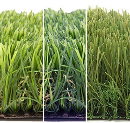 דשא סינטטי פשוט ירוק